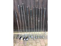 Men's Regal Golf clubs with carry bag