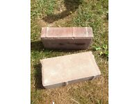 2500 Autumn red paving bricks £250 never been drove on