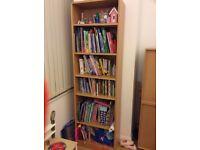 John Lewis real wood bookcase