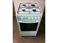 GAS COOKER - GLEN BY BELLING MODEL: G797WH - GOOD CONDITION