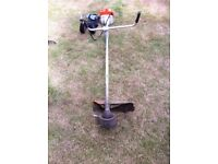 Stihl FS280 Strimmer with harness + extra head & strimmer line.