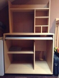 Computer Desk Good Quality in Excellent Condition