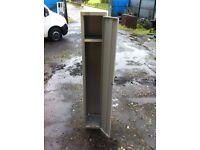 Storage locker in reasonable condition