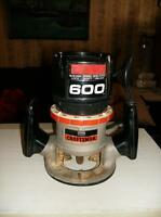Craftsman 600 Router--New Price!