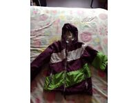 Girls, Surfanic Ski jacket, age 9-10yrs.