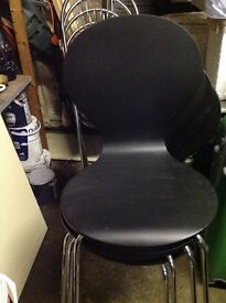 4x kitchen table chairs