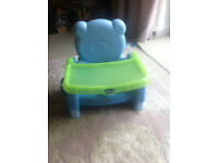 Chicco Adjustable High Chair Booster Seat