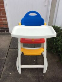 Child's High Chair. Excellent condition.