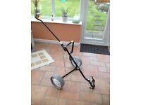 Turfglider Titleist golf trolley