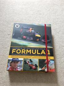 Formula 1 book and DVD - unused new condition
