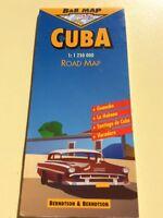 Kuba Roadmap Strassenkarte PVC beschriftbar inkl. Städte TOP! Dresden - Trachau Vorschau