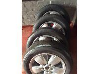Mini 15 inch alloy wheels