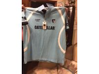 Leicester tigers 08/09 away short sleeve brand new with tags