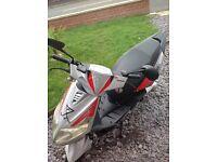 Generic xor 50 moped for spares&repairs