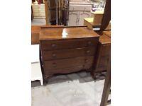Vintage dressing table & matching draws
