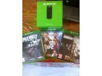 xbox one games bundle and media remote