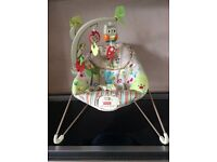 Fisher Price woodland baby bouncer