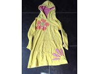 M&S Kids towelling beach robe 5-6 yrs