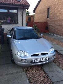 looking to sell MGF sports car 'my my mid life crises toy ' its engine seized !