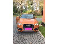 Stunning Orange Audi Q3 - fully loaded