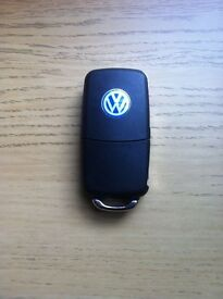 VW POLO SEAT IBIZA GENUINE 3 BUTTON REMOTE LOCKING UPGRADE 9N 9N3 GOLF *ENGINE START* PD