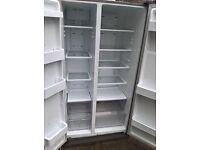 Samsung Silver American fridge freezer.....Mint free delivery