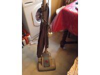 Vintage vacuum cleaner, in good working order, Hoover Junior model. Very reliable.
