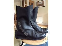 Motorcycle boots size 42