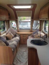 2014 Bailey Pegasus GT65 Bologna 4 berth twin axle Caravan FSH, one owner.