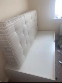 Single cabin bed + mattress