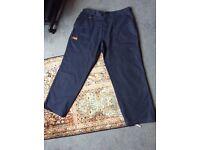 Regatta Great Outdoors Dark Blue Men's 3/4 Length W36 Trousers
