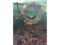 Jcb rear tyre ideal for impact training