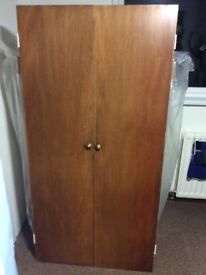 Wardrobe doors - 1 Pair of large and 1 pair small