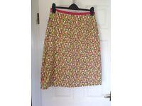 Boden patterned skirt Size 12L