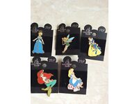 5 Disney princess badges