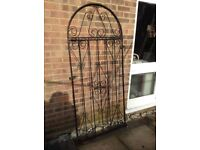 WROUGHT IRON GATE GOOD CONDITION