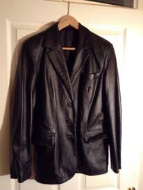 Black leather jacket for sale