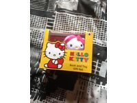 Little kitty teddy and book brand new