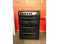 Hotpoint creda collection electric cooker C367EKH 60cm double oven 3 months warranty free local deli