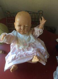 Lifelike female doll