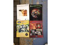 Songbooks x 4. Ash,Janes Addiction,Smashing Pumpkins and Good Charlotte.