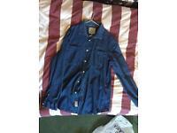 Jack wills, JW denim designer shirt Size M medium