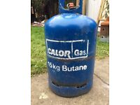 Butane Gas Bottle with fitting