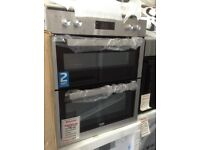 Beko intergrated built under double oven. £269 RRP £395 new/graded 12 month Gtee
