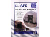 Extendable fire guard
