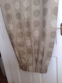 John Lewis Beige Curtains very good condition