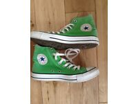 Trainers converse all stars. Size 7