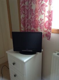 Portable TV and Freeview box