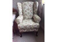 High seat armchair
