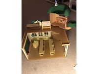 Sylvanian Families Treehouse School with all furniture